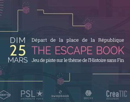 The Escape Book, l'urban game du festival Créart'up